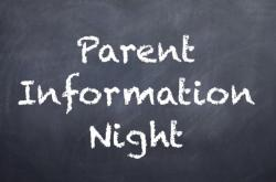 FSA Parent Night Power Point