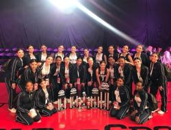 Varsity Pantherettes:  National Champs!