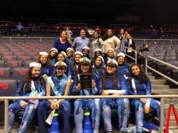 Varsity Winter Guard:  10th in the Nation!
