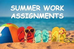 Summer Assignments K-5th  (Revised 2nd and Kinder Packets 6-21-19)